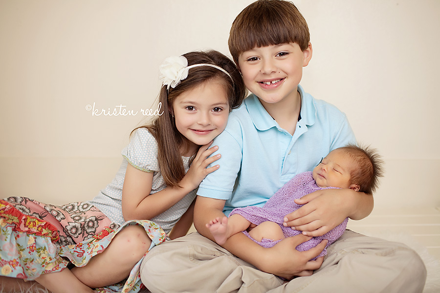 Sweet Siblings Jackson Medina Covington TN Newborn Baby Photography